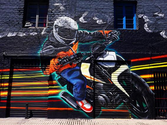 Mural Moto