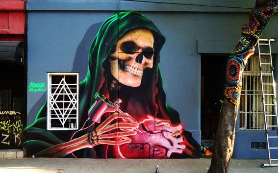 Mural reaper