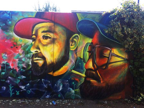Mural Amigos