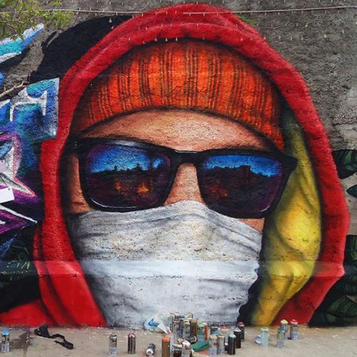 Mural Encapuchado