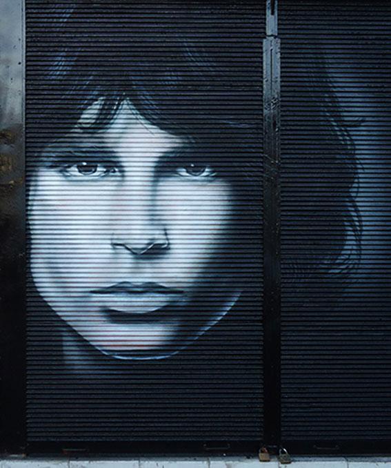 Mural Jim Morrison