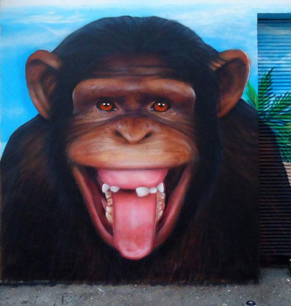 Mural Mono