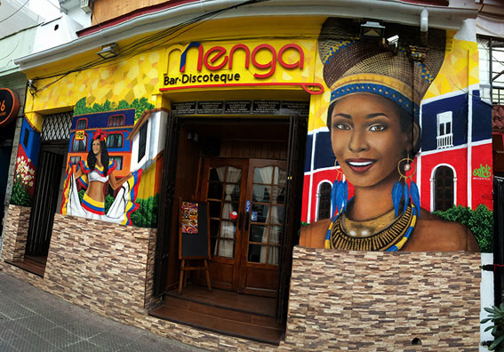 Mural Bar Discoteque Menga