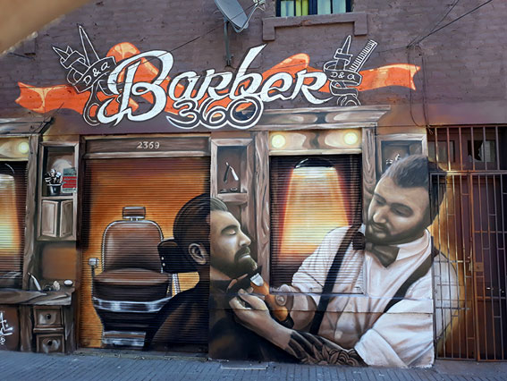 Mural Barberia 360