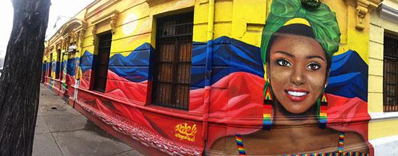Mural Bar Restaurant Mistica
