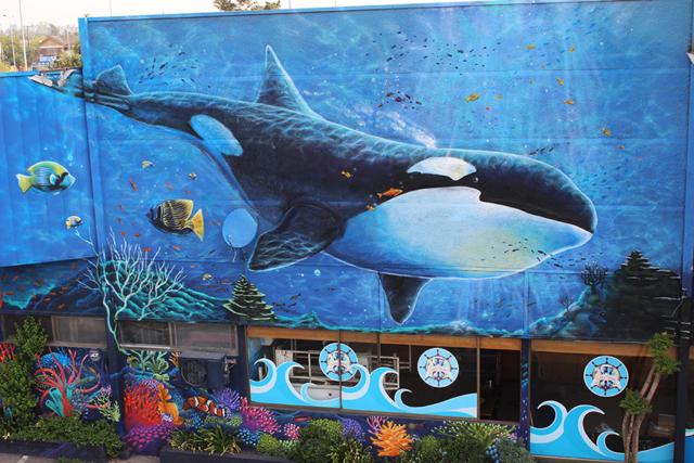 Mural Caleta Tongoy