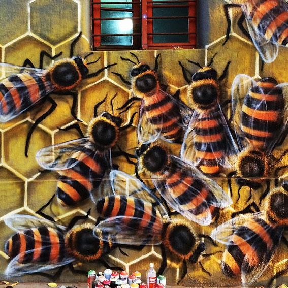 Graffiti Abejas