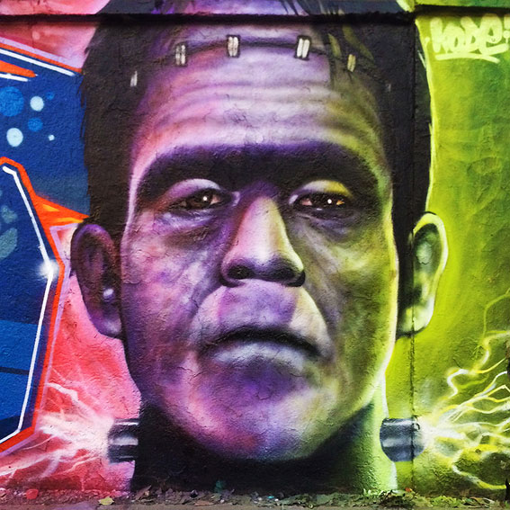 Graffiti Frankenstein