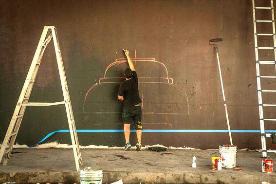 Mural la balanza