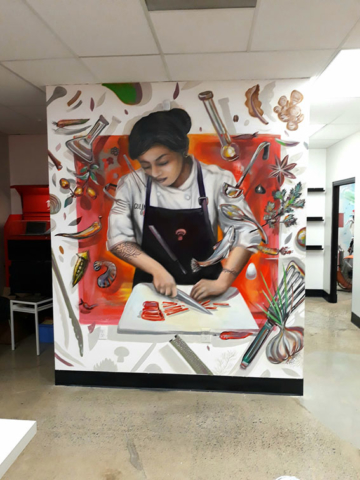 Mural Cooking Lab