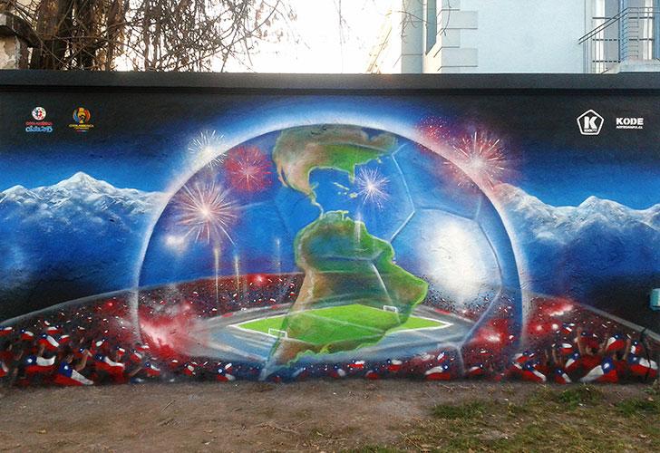 Mural Copa America
