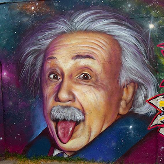 Mural Einstein