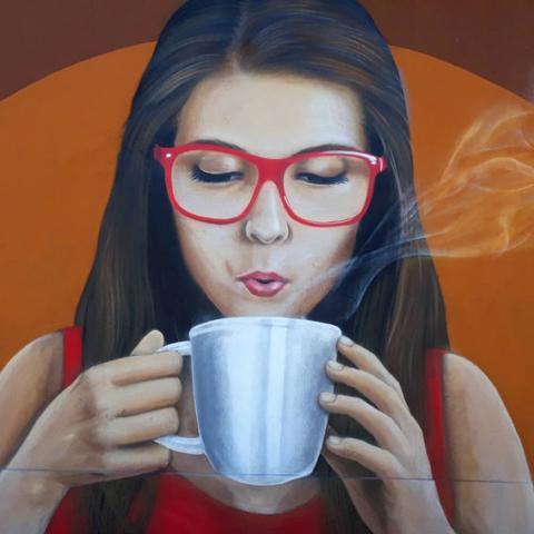 Mural Cafe San Pablo