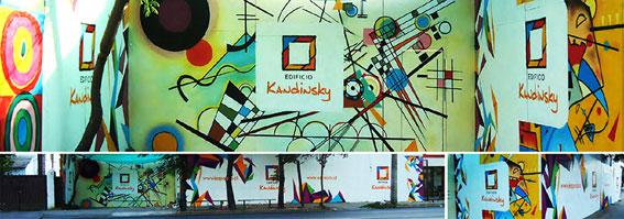 Fachada Construccion Edificio Kandinsky