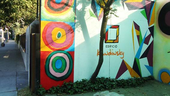 Fachada Edificio Kandinsky