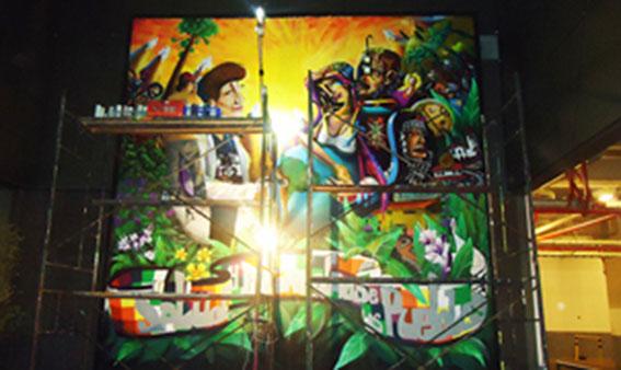 Mural Hospital La Florida