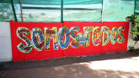 Mural Teleton