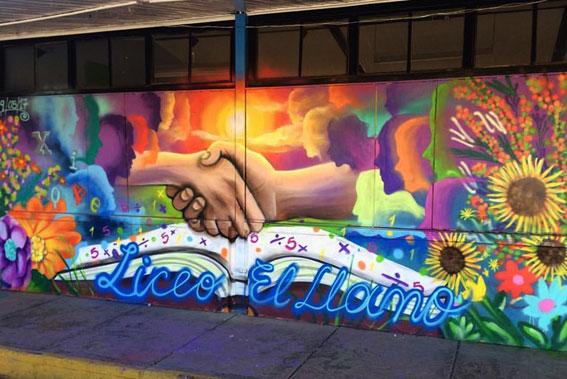 Mural Liceo El Llano